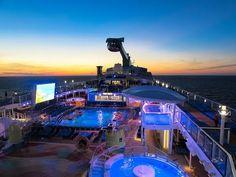 Royal Caribbean's Quantum of the Seas - a $1 billion state of the art mega cruise ship