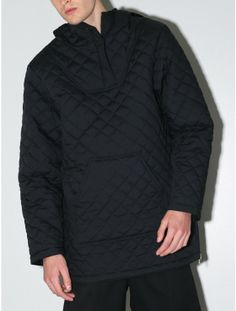 Sir New York quilted pullover jacket black