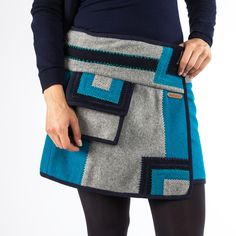 Moshiki Wickelrock Mosk 08 Größen L ca. Trends, Picture Link, Wool Skirts, Messenger Bag, Shopping, Clothes, Style, Fashion, Woman Clothing