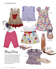Floral Print - Revista J  #kidsfashion #summer  #loveit #fashionnews #fashiontips #shopping
