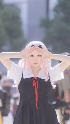 H Cosplay, Anime Cosplay Girls, Kawaii Cosplay, Anime Cosplay Costumes, Cute Cosplay, Amazing Cosplay, Best Cosplay, Cute Kawaii Girl, School Girl Japan