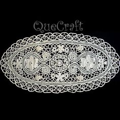 french+lace+tablecloths | tablecloths round on Etsy, a global handmade and vintage marketplace. Lace Tablecloths, Point Lace, Vintage Marketplace, French Lace, Handmade, Etsy, Hand Made, Lace Doilies, Craft