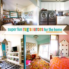 super fun rug sources for the home | the handmade home