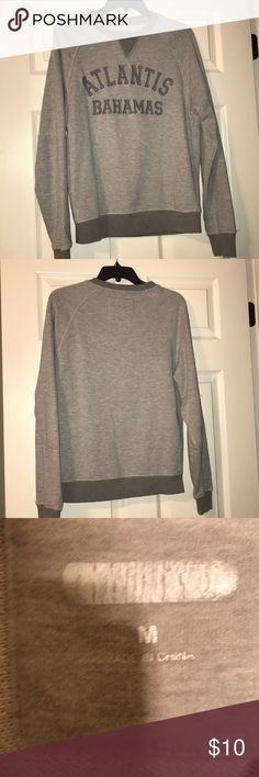 Atlantis Bahamas sweatshirt Atlantis Bahamas sweatshirt.  Worn once! Tops Sweatshirts & Hoodies