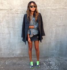 85 Fashion-Forward Ways to Style Your Sneakers This Spring Like this.