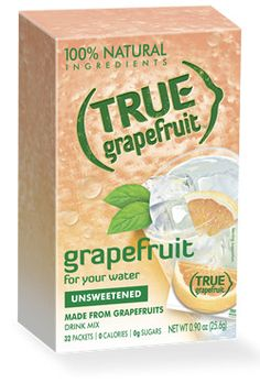 I usually add a pack of Berry Propel (or the Strawberry Kiwi flavor) with a packet of this True Grapefruit and it has the freshest citrus taste. (I like the True Lemon also). Lemon Pepper Pork Chops, Grapefruit Recipes, Grapefruit Cake, Daily Vitamins, How To Squeeze Lemons, Mixed Drinks, Health Diet, The Ordinary, Stuffed Peppers