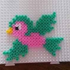 Bird hama beads by ansa_crea