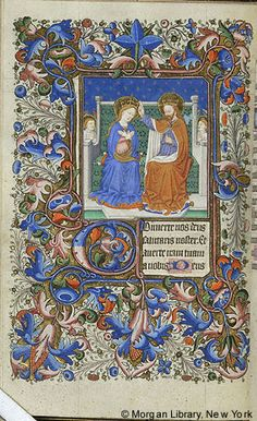 Book of Hours, MS G.9 fol. 60v - Images from Medieval and Renaissance Manuscripts - The Morgan Library & Museum