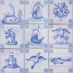 ASK 3922 Portuguese antique tile designs
