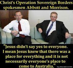 Oh, okay then, thanks for explaining that to us, Tony. I had no idea Australia had already been discovered in the time of Christ. Glad we've got you to explain these things to us, Tony.  (I think?)  #auspol #australia #tonyabbott #scottmorrison