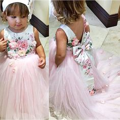 """Customer photo Wearing our Lili Dress for her Bday! Shop: ittybittytoes.com (search """"Lili"""") Little Girl Gowns, Toddler Flower Girl Dresses, Gowns For Girls, Kids Outfits Girls, Baby Dress, Kids Party Wear Dresses, Flower Girl Headpiece, Kids Gown, Tutu Outfits"""