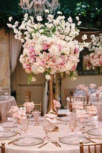 Tall Wedding Centerp