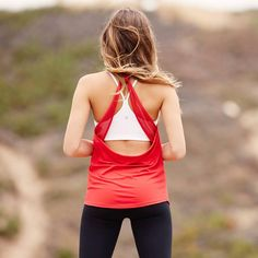 Back it up: Show off all your hard work. #fabletics #outdoors #backdetail