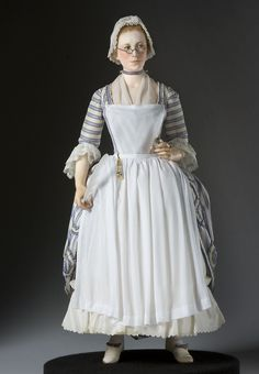 Mercy Otis Warren - Figure from the Museum of Ventura County collection.  Historical Figures Collection by George Stuart.