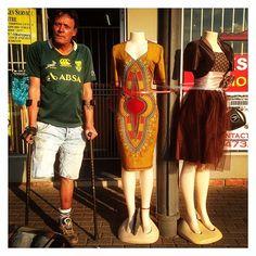 """Locksmith Jeff Gunn poses for a picture in Sophiatown."" Pic by @raymondpreston13"