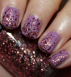 """Cult Nails Summer 2013 """"Dance All Night' Collection: Center Of Attention"""