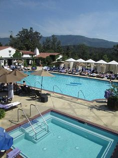 Ojai Valley Inn Herb Garden Pool Hot Tub Hotel Scoop. Photo by http://nancydbrown.com
