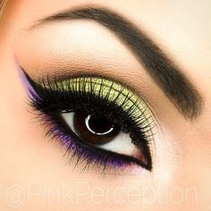 Stunning look by Pinkperception using Jester and Caitlin Rose foiled eyeshadows with Beaches and Cream eyeshadow to blend it out!