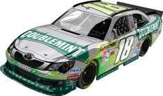 Kyle Busch Lionel Nascar Collectables 2012 Doublemint Diecast by RacingGifts. $76.00. This new Nascar Collectible is a 1:24 scale limited edition diecast collectible that includes over 100 working total parts. With a diecast body and chassis, this sleek replicas authenticity is evident. Key features also include: hood and trunk open, manufacturer-specific engine detail, accurate header contour and simulated exhaust openings. Each 1:24 scale diecast will also contain a DIN, ...