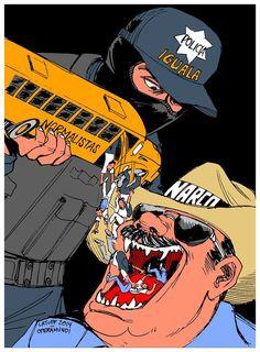 México: la indignación por los desaparecidos de Ayotzinapa se niega a desaparecer