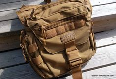 5.11 Tactical PUSH Pack is good pouch for storing small stuff