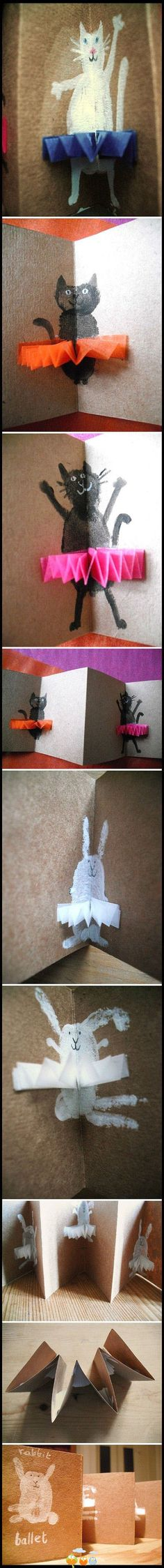 Diy Geschenk Basteln – Such a cute idea for pop up cards! Origami, Diy For Kids, Crafts For Kids, Fun Crafts, Arts And Crafts, Paper Pop, Pop Up Cards, Diy Cards, Envelopes