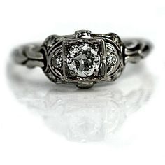 Hey, I found this really awesome Etsy listing at https://www.etsy.com/listing/189696842/antique-platinum-old-european-cut