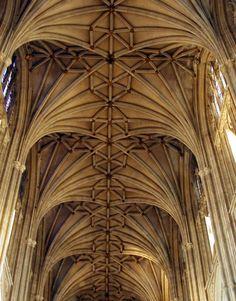 Catedral de Canterbury  Gótico perpendicular inglés