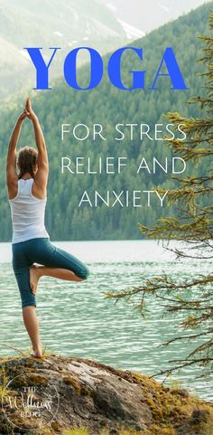 Yoga for stress relief, asanas that help to relax, get rid of anxiety, basic yoga poses and relaxation techniques that can reduce stress. Stress Yoga, Yoga For Stress Relief, Natural Stress Relief, Stress And Anxiety, Anxiety Relief, Stress Free, Pain Relief, Hatha Yoga Poses, Easy Yoga Poses