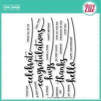 Avery Elle Clear Stamp - Sentimental