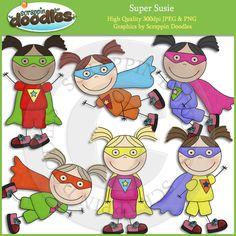 Super Susie Clip Art Download