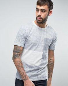 Camiseta con estampado de patchwork de Only & Sons