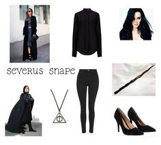 """""""Snape's wifey"""" by chaimae-megherbi on Polyvore"""