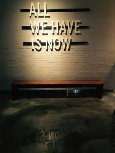 ALL WE HAVE IS NOW // Seoul Fine Dining