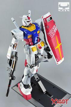 "Custom Build: Mega-Size 1/48 RX-78-2 Gundam ""Detailed"" - Gundam Kits Collection News and Reviews"