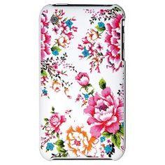 Taiwan Hakka Flower Pattern - iPhone 3G Hard Case