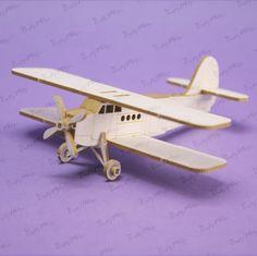 1293 Tekturka - Samolot Antek 3D
