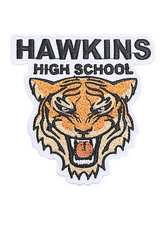 Stranger Things Hawkins High School Iron-On Patch,