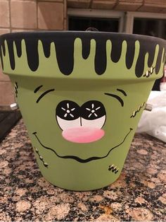 Image result for clay pot crafts Halloween