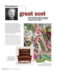 """Bruce Macdonald takes benchmade furniture to new widths! Read more at http://www.editiondigital.net/publication/?i=285193#{""""issue_id"""":285193,""""page"""":56}"""