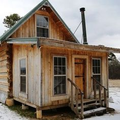 Building a Cabin with a Portable Sawmill – Green Homes – MOTHER EARTH NEWS