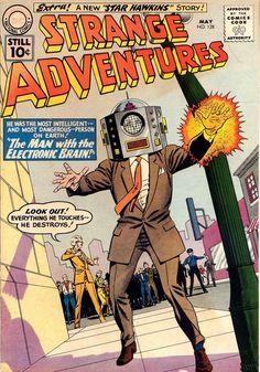 strange adventures comics - Google Search