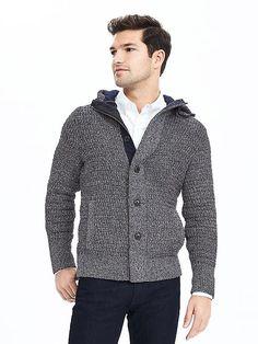 Heritage Textured Sweater Jacket