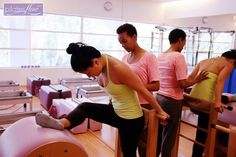 we welcome Raquel from Seattle in joining our family of classical #Pilates instructors  here she teaches Peiyi the Ladder Barrel stretches  www.thepilatesflow.com.sg  https://www.facebook.com/ThePilatesFlow