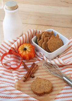 Grain Free Rolled Out Pumpkin Spice Cookies
