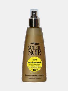 SOLEIL NOIR - Huile Seche Vitaminé 15 Güneş Yağı Spreyi