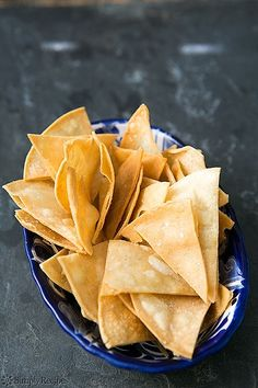 How to Make Homemade Tortilla Chips by Simply Recipes