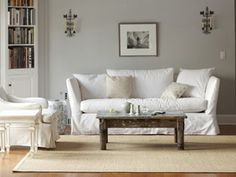Cheap Living Room Decorating Ideas - Decorating a Living Room on a Budget - Country Living