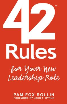 Amazing rules for building leadership skills.