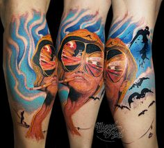 Fear and Loathing in Las Vegas tattoo..would never ever ever do this myself but I love love this movie and this tat rocks!!!